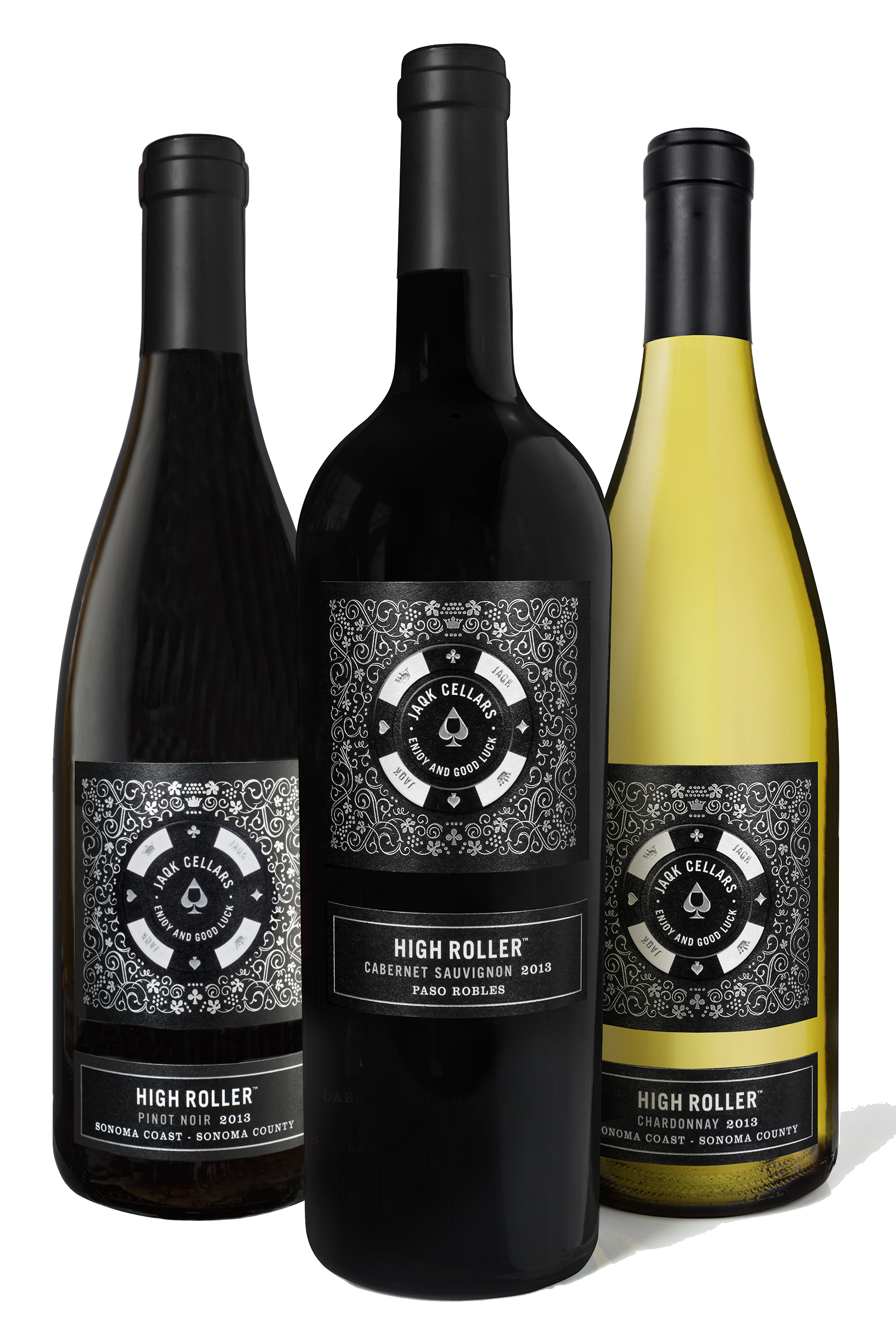 High Roller Wines by JAQK Cellars